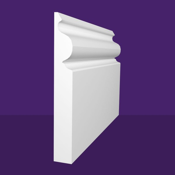 Regency Ogee Skirting Board