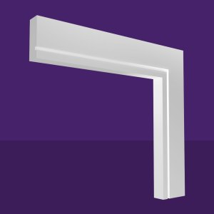Single Square Groove Architrave