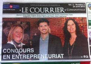 Nathalie Royer Journal Le Courrier 24 avril 2012
