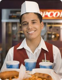 Jak si objednat ve fast foodu?