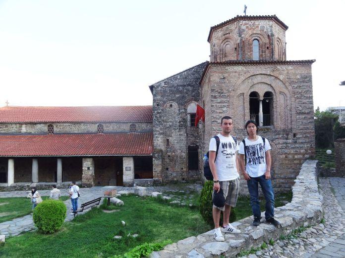 Makedonya Ohri Sofya Kilisesi ohri gezi rehberi Ohri Gezi Rehberi Makedonya Ohri Aya Sofya 696x522