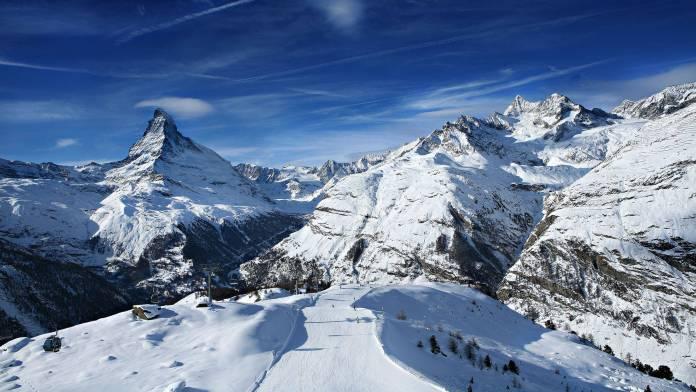 İsviçre Alpleri Kayak Merkezleri Zermatt Kayak Merkezi 696x392