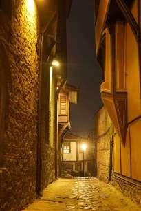 Filibe, Bulgaristan Plovdiv (Filibe)'de Gezilecek Yerler Plovdiv Old Town Sokaklar