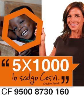 5 per mille per Cesvi