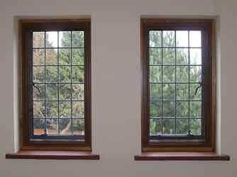 secondary glazing 104