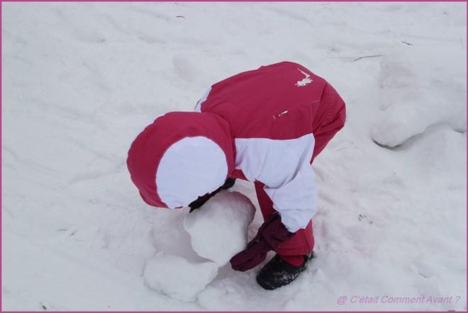 Attaquer par un bonhomme de neige