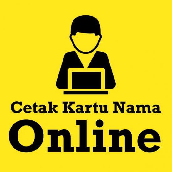 Cetak Kartu Nama Online