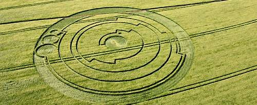 Pi decodificado em círculo inglês