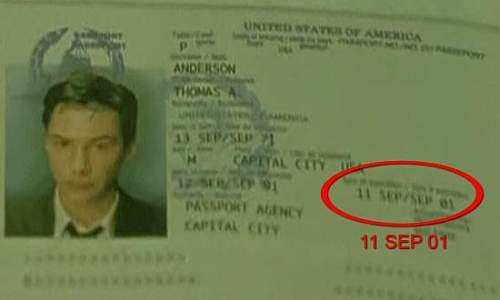 Falha na Matrix: 11 de setembro