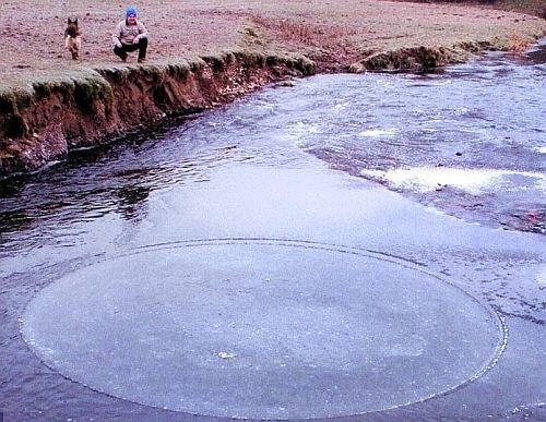 Círculos no Gelo Explicados (em parte)