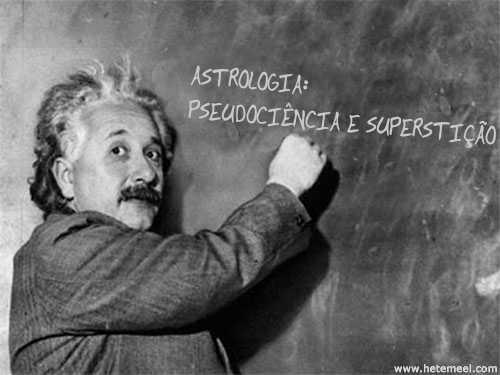 """Einstein sobre a Astrologia: """"pseudociência"""" e """"superstição"""""""