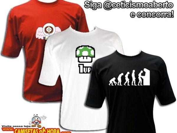 Siga @ceticismoaberto e concorra a Camisetas da Hora! #atualizado!