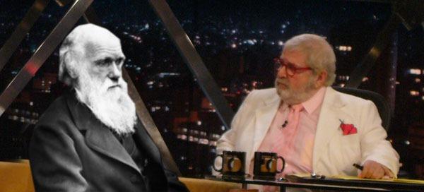 """""""Além de Darwin"""" hoje, no Programa do Jô"""