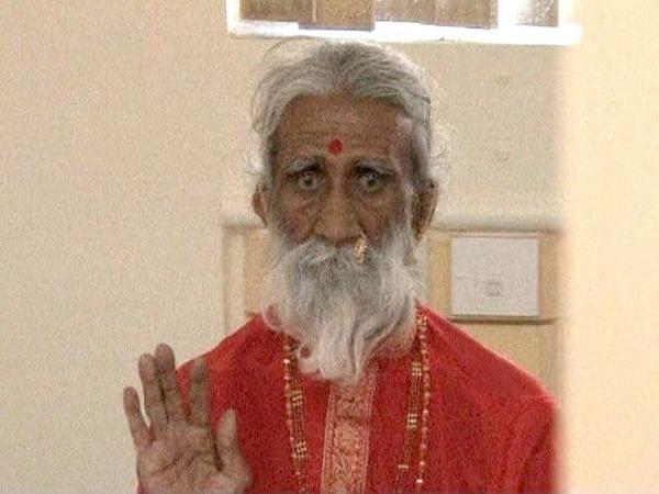 Faquir indiano, há mais de sete décadas sem comer?