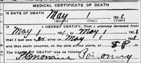 ptomaine-poisoning-death-certificate