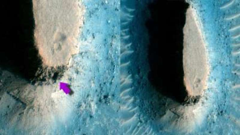 Escotilha em Marte