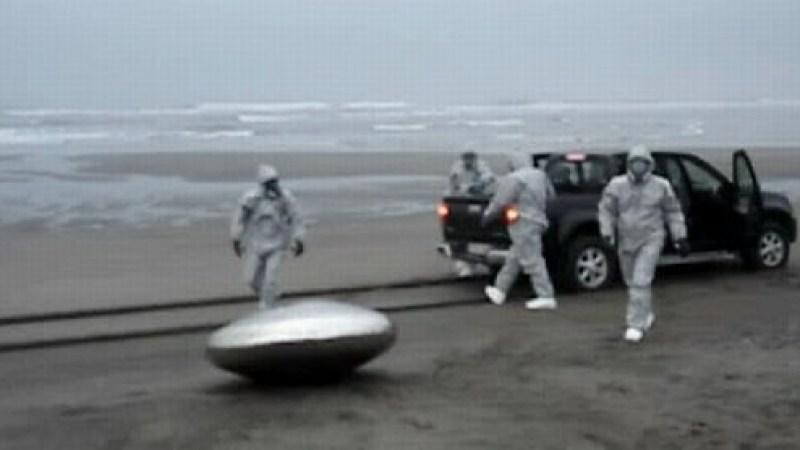 Invasão Viral: OVNI aterroriza pesqueiro em Galícia, Espanha