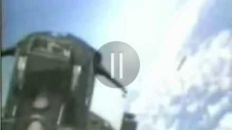 OVNI filmado por caça soviético!