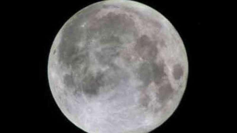 O rosto de Saddam aparece na Lua
