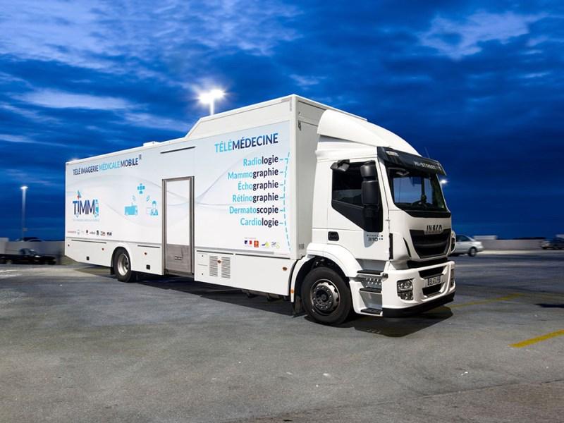 TIMM Télé imagerie médicael mobile désert médicaux esanté
