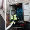 Réhabilitation du réseau des eaux usées à Laurabuc