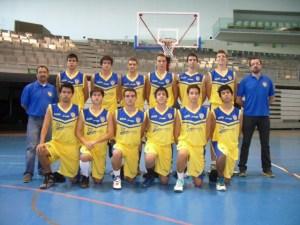 Plantilla del CB Juventud 2012-2013.