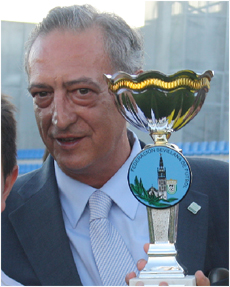 Lisardo López, presidente del CD Alcalá.