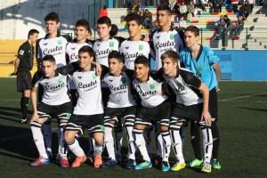El 'once' de la selección cadete de fútbol que se enfrentó a Islas Baleares