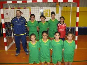 Equipo del BM. Estudiantes femenino