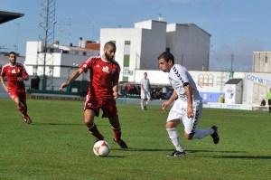 Perita, uno de los destacados del Atlético de Ceuta en Pozoblanco