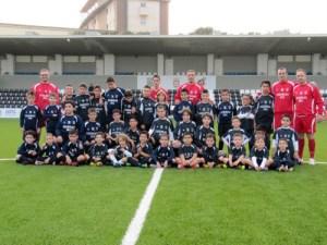 La Escuela de Fútbol 8 se despidió de 2012 con un entrenamiento en el Alfonso Murube
