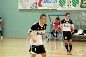 Ismael ha conseguido un 'hat trick' en el partido de esta tarde en Coín