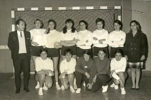 Equipo de Magisterio1967-68 campeón dos veces de Andalucía
