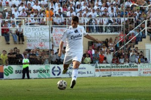 Rafa Santacruz jugó en la AD Ceuta en la temporada del play-off de ascenso ante el Girona