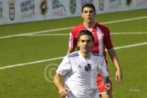 Jesús Villatoro reapareció ante el Antoniano después de muchos partidos sin jugar