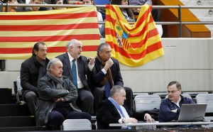 El presidente de la Federación Española Pepe Sáez asiste al Campeonato de España cadete