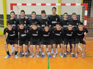 La selección cadete de fútbol sala prepara el Campeonato de España