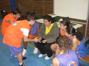 Alicia Sánchez es la entrenadora de la selección femenina