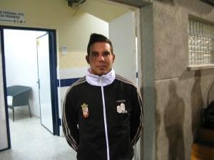 Borja Gil se incorporó a los 'entrenos' del Atlético de Ceuta tras desvincularse del Lucena