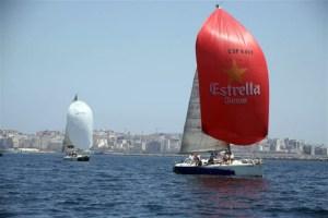 Una imagen de la regata organizada el pasado año por el RCN CAS de Ceuta