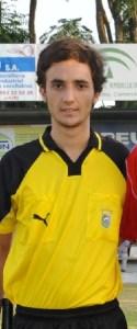 Ángel Munuera Montero, colegiado jiennense de 21 años