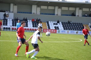 Nabil se erigió en protagonista al marcar dos goles