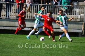 El Atlético de Ceuta sólo ha marcado 7 goles en 14 partidos fuera de la ciudad autónoma