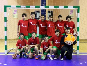 Selección infantil masculina de balonmano
