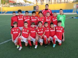 La selección alevín de fútbol 8 llevará a cabo su tercer entrenamiento de cara al Nacional