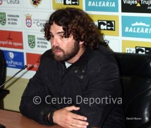 Juan Pedro Ramos, resignado con el 5-0 que encajó en el Murube