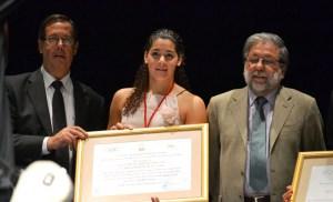 La waterpolista ceutí ha recibido muchas distinciones por la medalla de plata conseguida en Londres'12