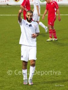 Perita volvió a marcar en el Alfonso Murube