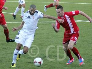 Perita, uno de los jugadores más en forma del Atlético de Ceuta