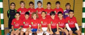 Imagen de la selección de Ceuta benjamín, que tendrá que viajar a tierras valencianas